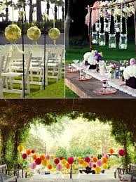 outdoor wedding decoration ideas marvelous ideas for a garden wedding h75 in home decoration idea