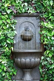 Diy Patio Fountain Lovable Garden Wall Fountains Water Features Similiar Diy Backyard