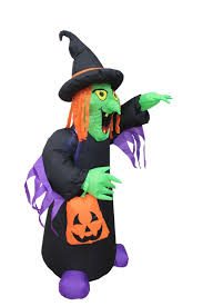4 foot tall halloween inflatable witch with and 13 similar items