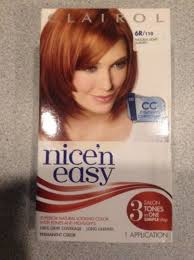 clairol nice n easy natural light auburn 10 boxes clairol nice n easy 6r 110 natural light auburn permanent