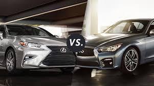 lexus vs comparison 2017 lexus es 350 vs 2017 infiniti q50 longo lexus