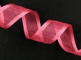 ribbon for sale ribbon organza ribbon with satin edges and gold styripes