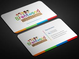 childcare business cards entry 32 by smartghart for business card child care center 2