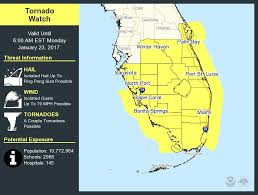 Miami Area Map by Tornado Watch Issued For Miami Area Miami Fl Patch