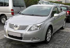 file toyota avensis iii 20090706 front jpg wikimedia commons