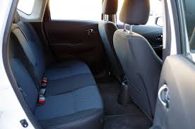 nissan versa back seat review 2016 nissan versa note sl canadian auto review