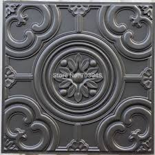 pl50 faux finish embossed 3d ceiling tile cafe club pub interior