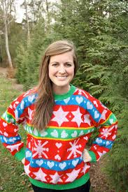 rivers and tristyle u0026 co ugly christmas sweaters