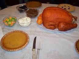 entire thanksgiving dinner as dessert turkey potatoes