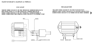 4 wire regulator wiring diagram for scooter wiring diagram