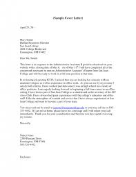 resume cover letter template administrative assistant