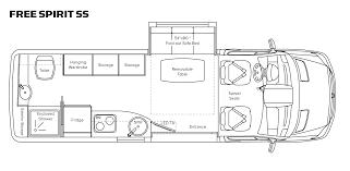 Class B Motorhome Floor Plans by Class B Motorhome Floor Plan Unity Class B Motor Home Overview