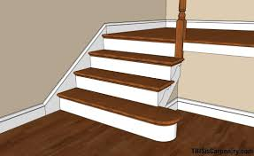Laminate Floor For Stairs Scribing Skirt Boards Thisiscarpentry
