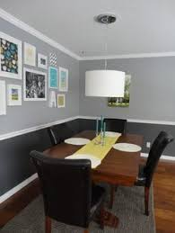 Two Tone Walls With Chair Rail Two Tone Paint Jobs On Walls Two Toned Walls On Pinterest Home