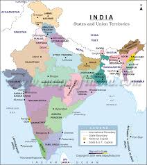 Map Of India And Nepal by India Size And Overpopulation Problems India Titan Team 2013