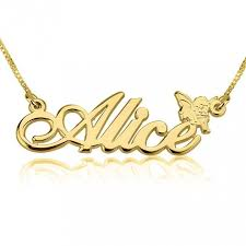 Gold Plated Name Necklace 151 Best 24k Gold Plated Name Necklace Images On Pinterest Metal