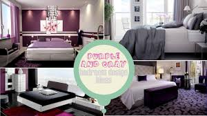 gray bedroom ideas purple and gray bedroom design ideas youtube