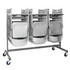 chaises pliables chariots de rangement pour chaises pliantes ou coques doublet