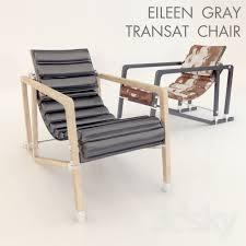 Eileen Gray Armchair 3d Models Arm Chair Eileen Gray Transat Chair