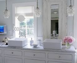 small chandeliers for bathrooms lighting your bathroom while