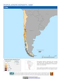 Map Of Chile South America by Maps Population Density Grid V1 Sedac