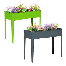 Metal Planter Box by Aosom Outsunny 40
