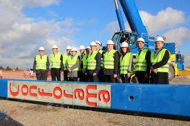 siege social conforama les travaux de l entrepôt géant de conforama inaugurés à tournan en