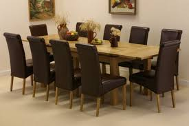 Leather Upholstered Dining Chairs Dining Room Brown Leather Upholstered Dining Chair Classic Dining