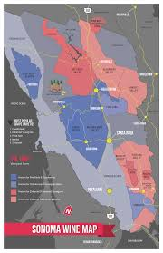 Beer Map Usa by Sonoma Wine Map Poster Wine Wine Education And Beer