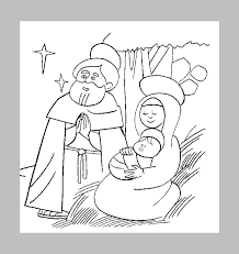 free christmas nativity coloring pictures gilboardss