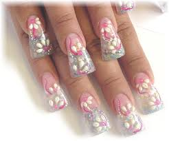 acrylic nail art design how you can do it at home pictures