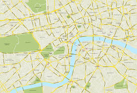 Map Of Central Europe by The Major Map Of Central London England Detailed Map Of England