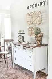 dining room sideboard made from antique dresser dining room