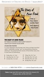 the diary of anne frank florida atlantic university dorothy f