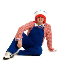 Raggedy Ann Andy Halloween Costumes Adults Raggedy Andy Size Halloween Costume Men Costumes