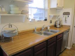 kitchen cozy and natural bamboo floor in kitchen designs kitchen compelling kitchen top with butcher block countertops ideas endearing kitchen countertops design with