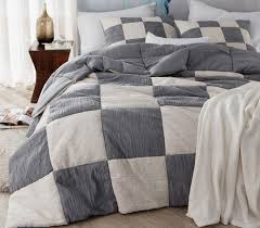 stream alloy blended textured quilt two tone twin xl