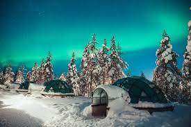 norway northern lights igloo snow adventures at kakslauttanen nordic experience