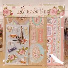 Vintage Scrapbook Album Aliexpress Com Buy Diy Mini Photo Album Making Kit For Kids