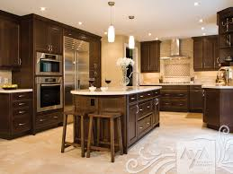 Canadian Kitchen Cabinets Ravenna Cocoa Maple Contemporary Cosmopolitan Aya London East