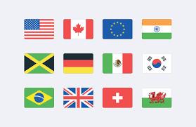 Singapore Flag Icon Vector World Flag Icons Svg U2014 Medialoot