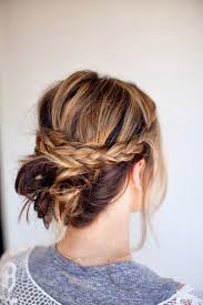 Easy Updo Hairstyles Step By Step by 20 Easy Updo Hairstyles For Medium Hair Pretty Designs
