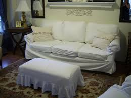 Leather Slipcovers For Sofa Points To Consider Before You Choose White Leather Couch Covers