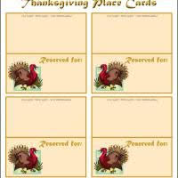 the best thanksgiving name cards the free thanksgiving