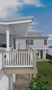 architect design 3d concept beach house freshwater