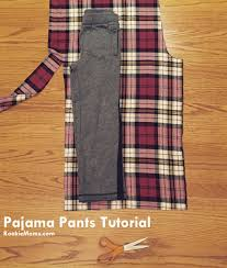 pattern pajama pants tutorial how to make cozy pajama bottoms rookie moms