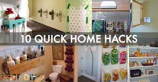 diy hacks home 10 amazing and quick home hacks you ve never seen wise diy