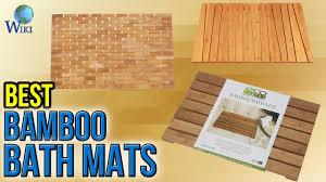 Bath Mat Wood 9 Best Bamboo Bath Mats 2017 Youtube