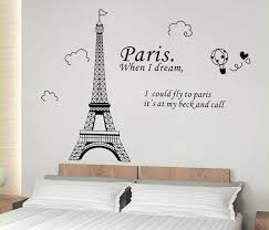 wall decal awesome paris decals wall art ideas paris wall decals