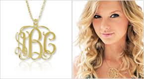 gold monogram initial necklace jewelry necklaces mynamenecklace